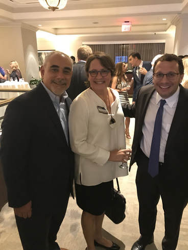 Yery Marrero at the Dade County Bar Association's A Night of Hope reception
